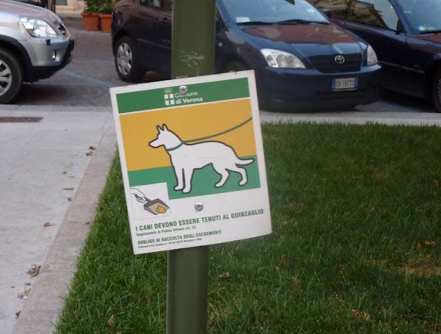 Znak informacyjny dla właścicieli psów