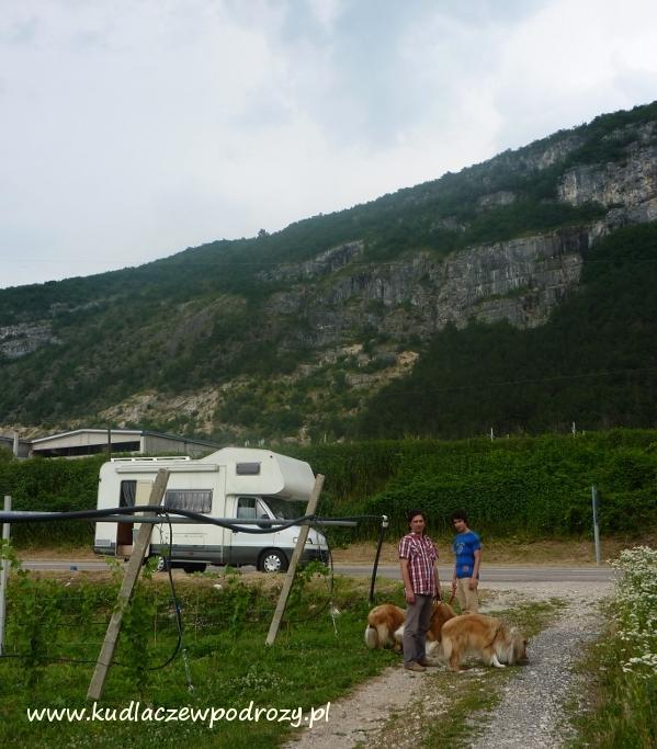 Włochy. Widokowy postój