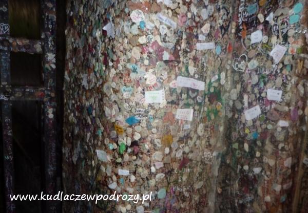 Werona - ściana przed domem Julii.