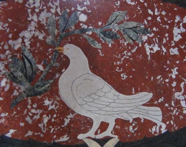 Rzym - Bazylika św.Jana na Lateranie - posadzka