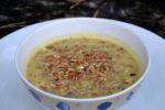 Zupa z cukinii z prażonym słonecznikiem